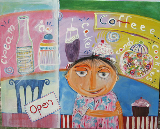 Painting by : Shefali Nayan / All For The Sweet Tooth