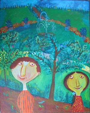 Painting by : Shefali Nayan / At the Park